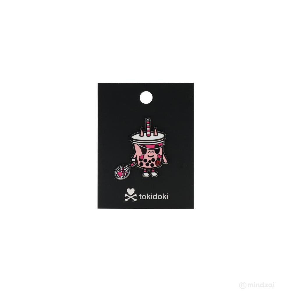Boba Betty Enamel Pin by Tokidoki