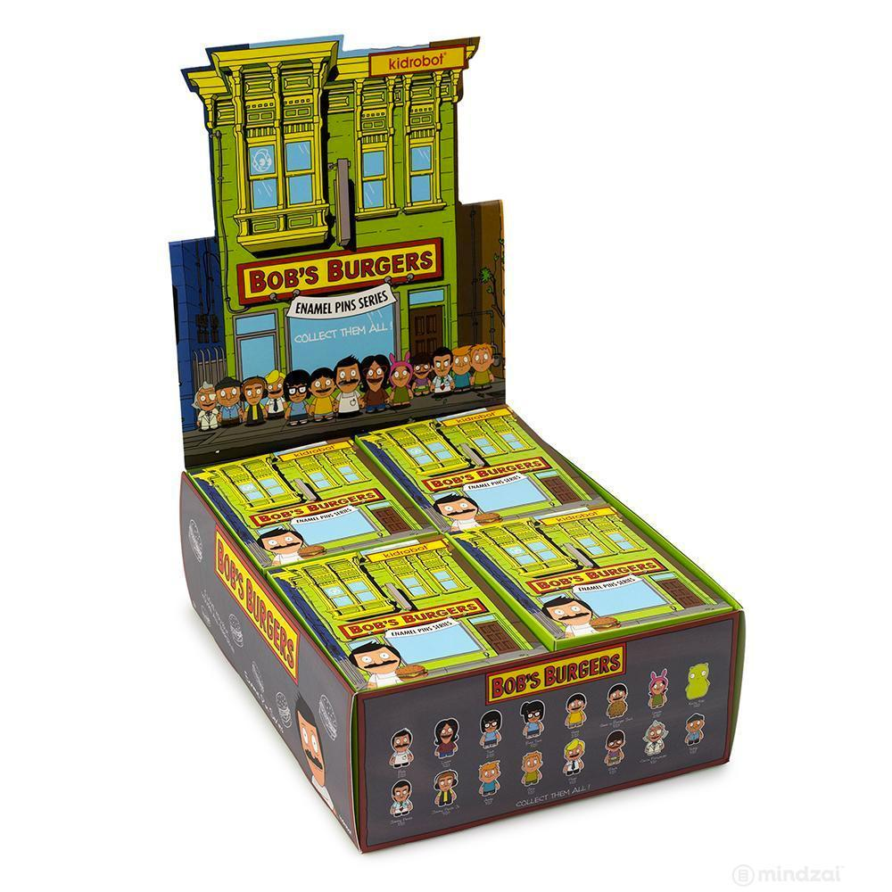 Bob's Burgers Enamel Blind Box Pin Series by Kidrobot