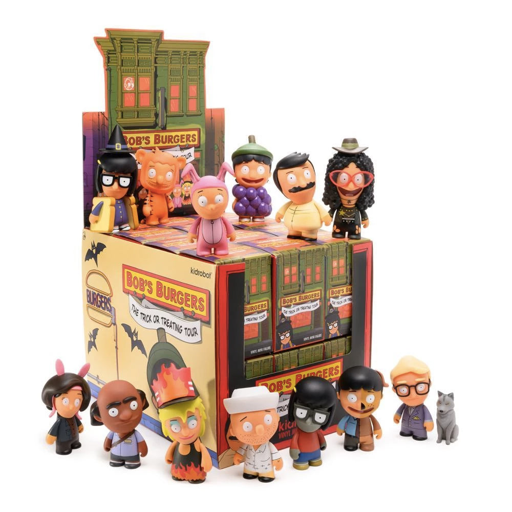 Bob's Burgers Trick or Treating Tour Mini Series by Kidrobot