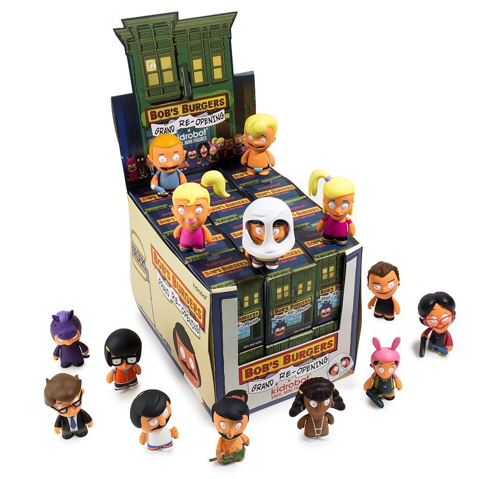 Bob's Burgers Blind Box Mini Series Two by Kidrobot