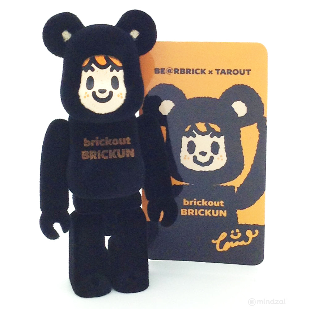 Bearbrick Series 24 - Brickun Black - Tarout (Artist)