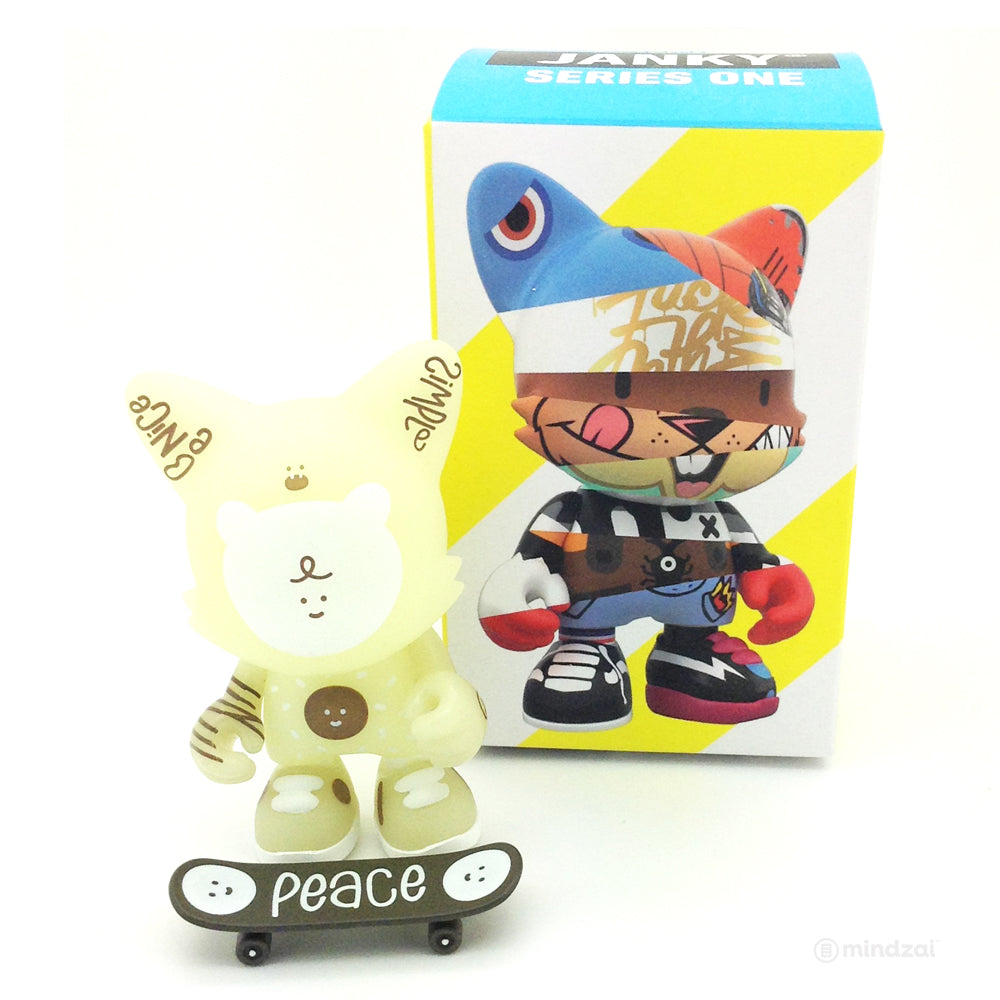 Janky Series 1 Blind Box by Superplastic - Be Nice (Bubi Au Yeung) GID - [Chase]