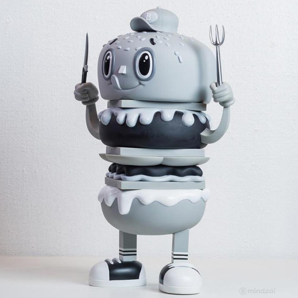 The Burgy (Mono. Ver.) by Christian Tamondong x Secret Fresh Gallery x ToyQube