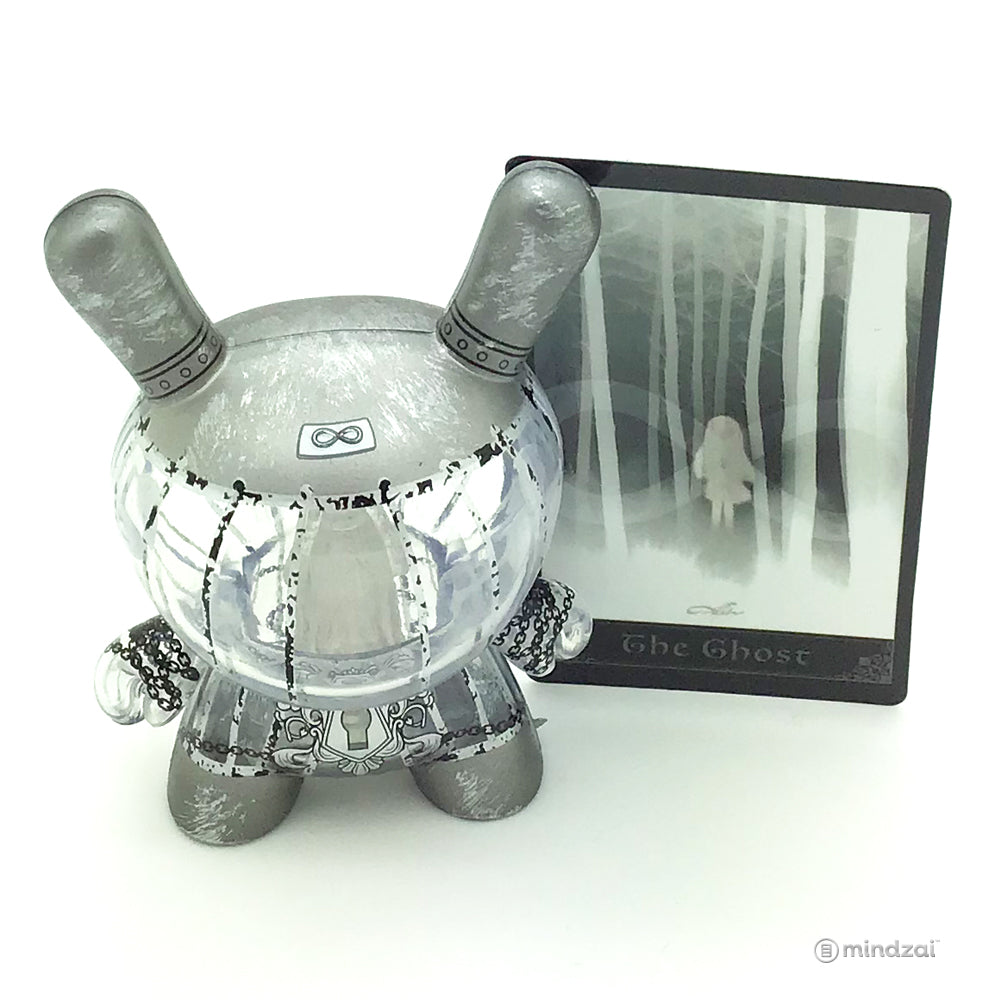 Arcane Divination Series Two The Lost Cards Dunny by Kidrobot - Imprisoned Ghost Dunny (J*Ryu) [Chase]