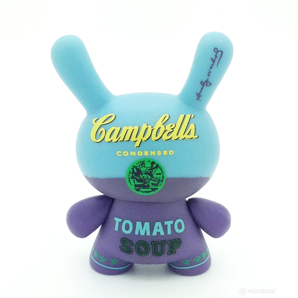 Andy Warhol Mini Dunny Series Blind Box - Campbell's Tomato Soup (Blue)