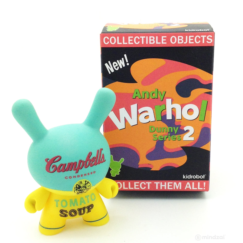 Andy Warhol Dunny Series 2.0 Blind Box - Campbell's Soup Can