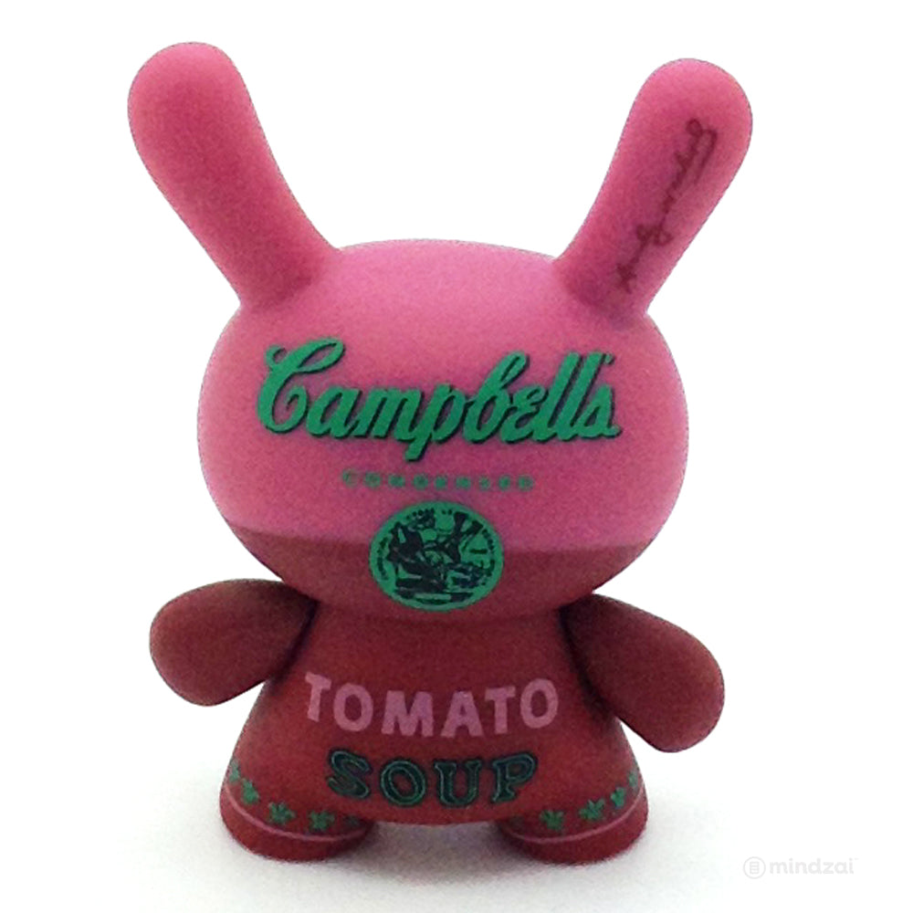 Andy Warhol Mini Dunny Series Blind Box - Campbell's Tomato Soup (Red)