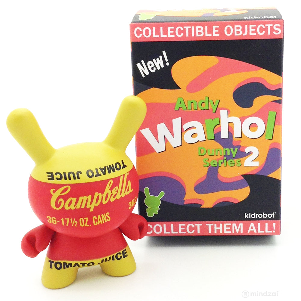 Andy Warhol Dunny Series 2.0 Blind Box - Campbell's Tomato Juice