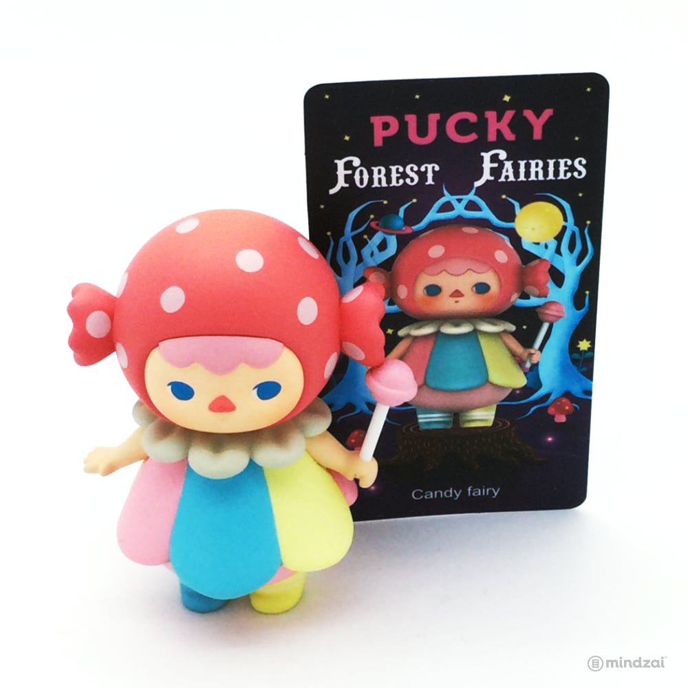 Forest Fairies Blind Box Toy by Pucky x POP MART - Candy Fairy