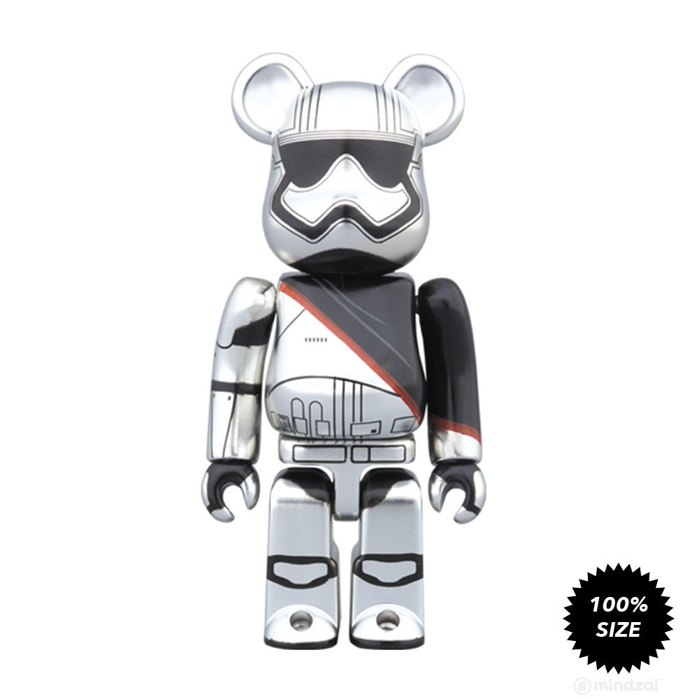 Captain Phasma Bearbrick 100% by Medicom Toy x Star Wars