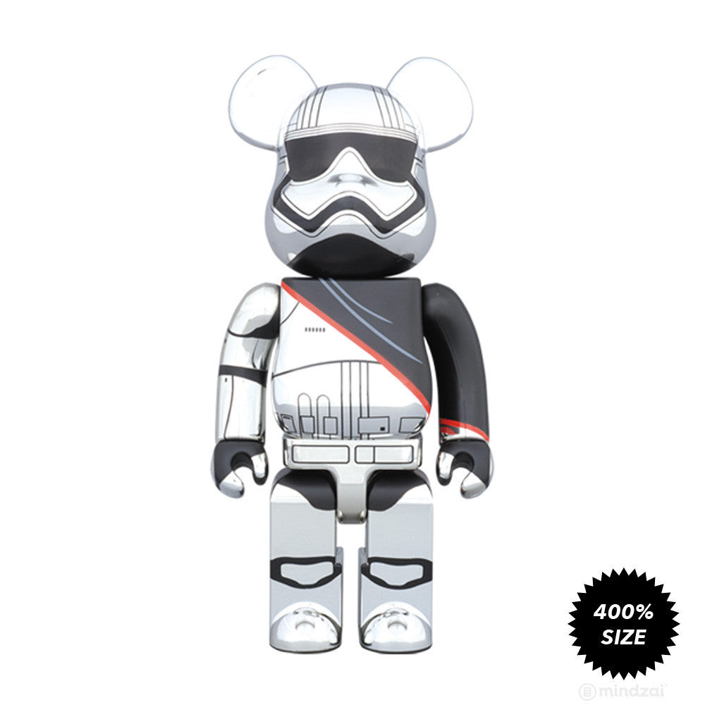 Captain Phasma Bearbrick 400% by Medicom Toy x Star Wars