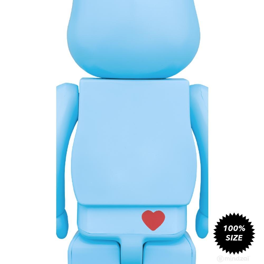 Care Bears Bedtime Bear 100% Bearbrick by Medicom Toy