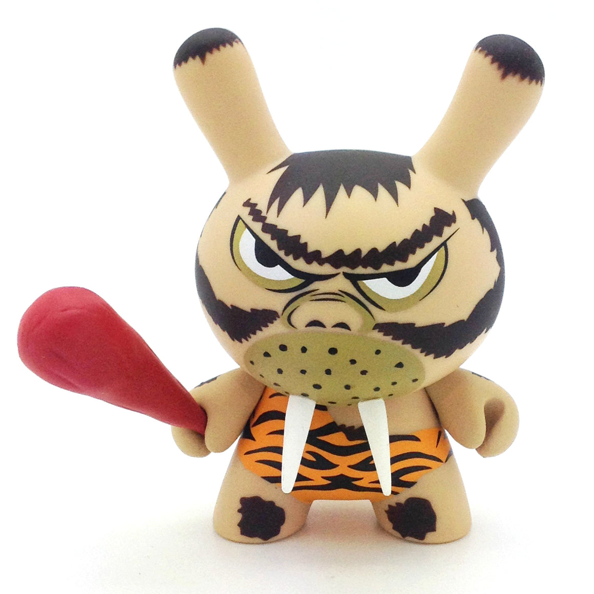 Dunny Evolved Series - Caveman by Frank Kozik - Mindzai  - 3