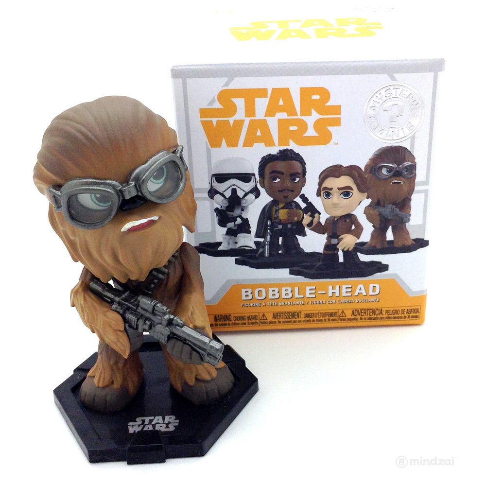 Star Wars Solo Mystery Minis Blind Box by Funko - Chewbacca with Goggles