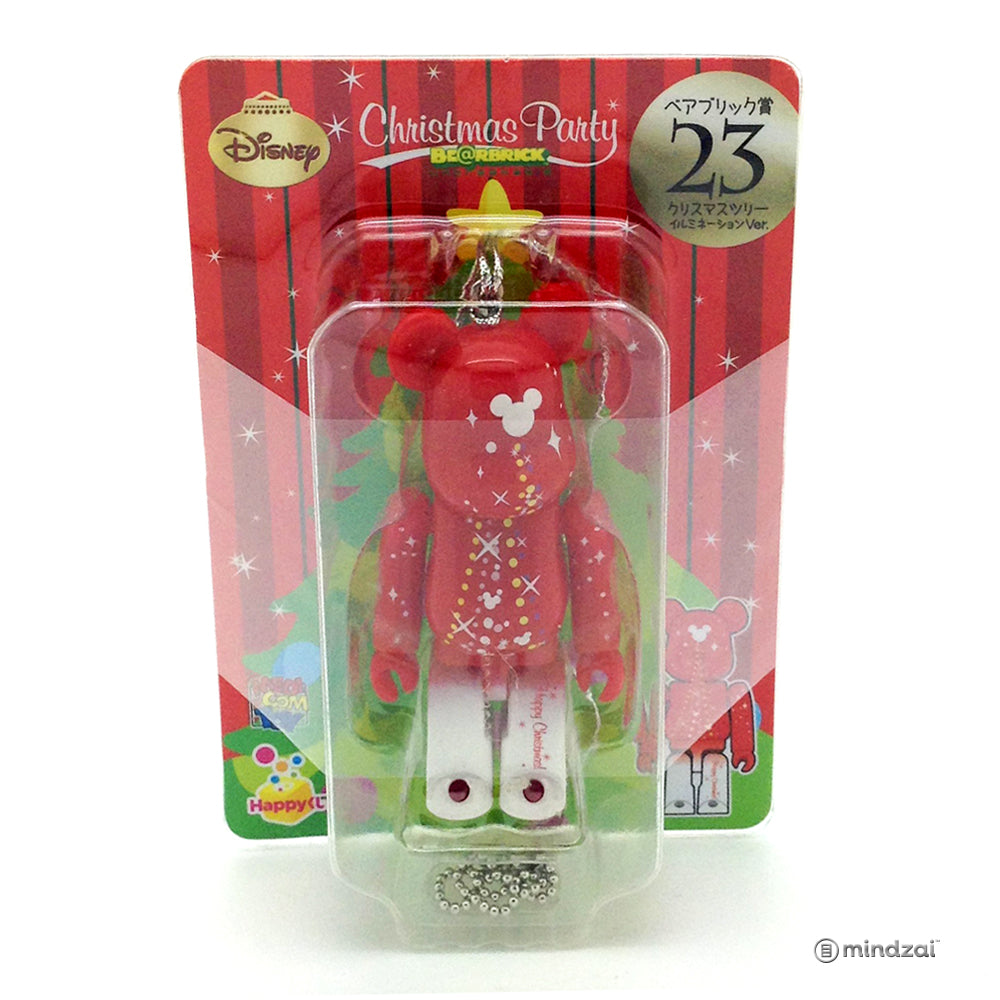 Disney Bearbrick Unbreakable-Happy Kuji#40 - Christmas Tree Illumination with Mickey Logo 100% Size