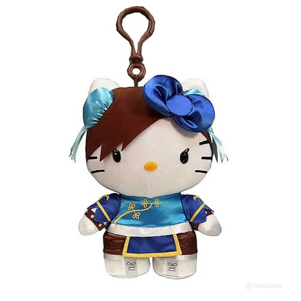 Sanrio Hello Kitty x Street Fighter Chun Li - Clip On Coin Purse