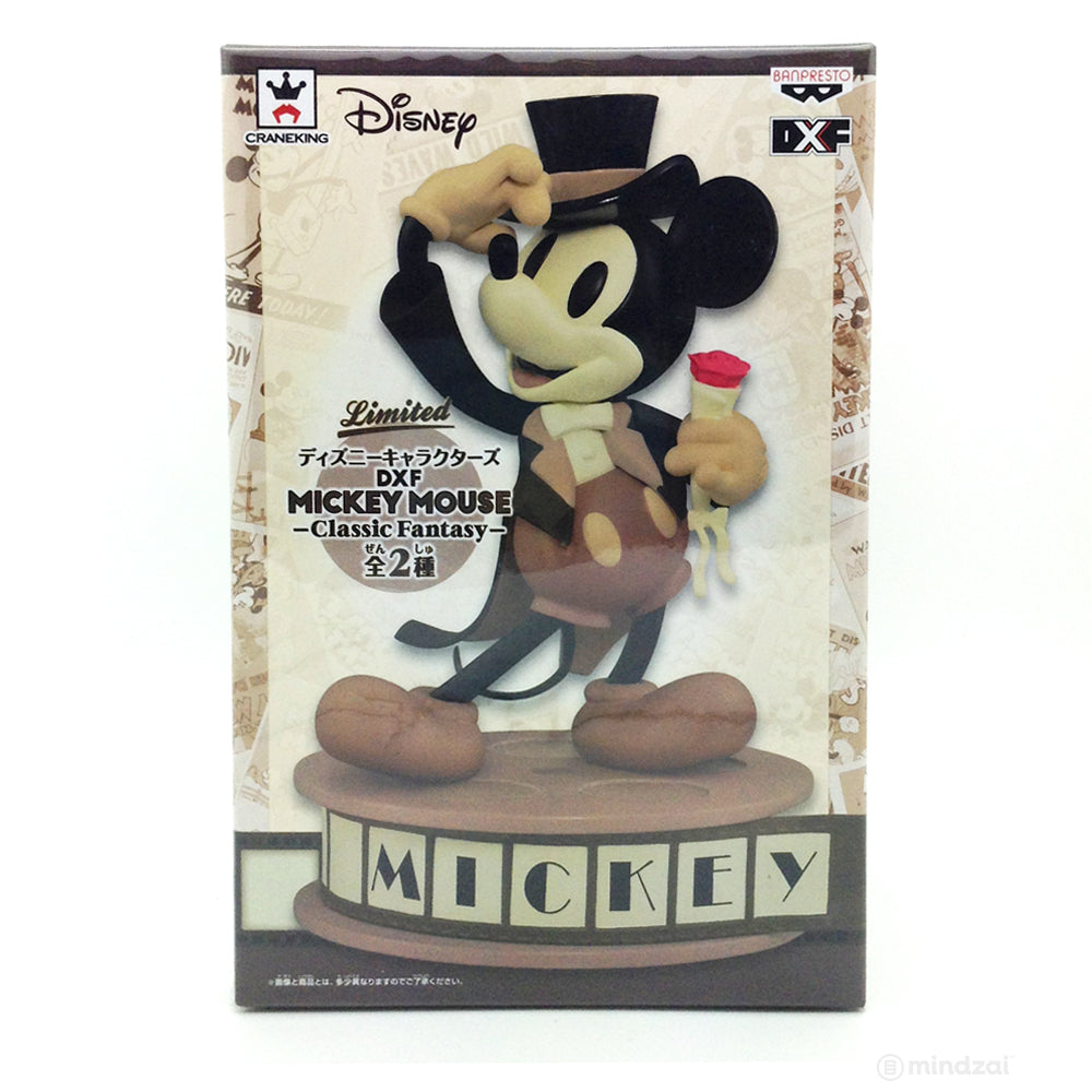 Mickey Mouse DXF - Classic Fantasy (Sepia Version)