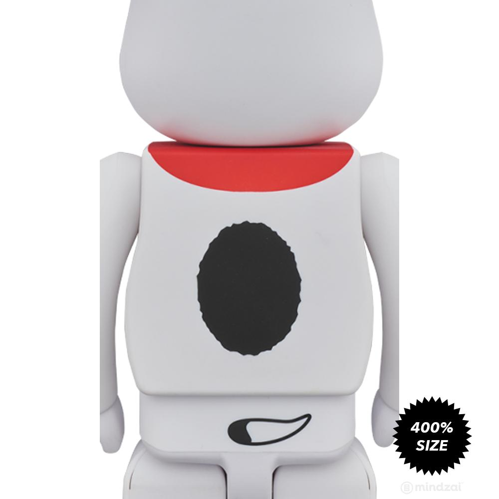 Snoopy Classic Peanuts 400% Bearbrick by Medicom Toy