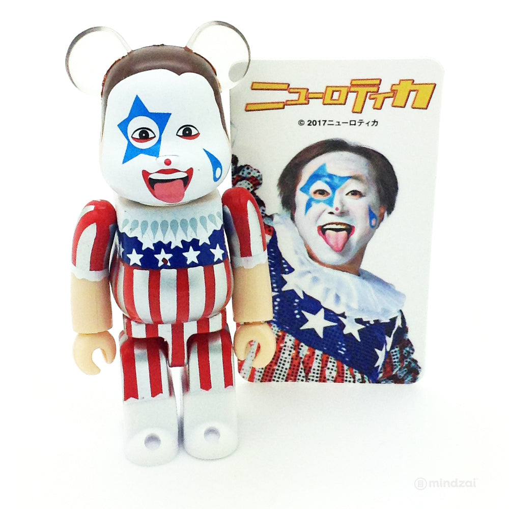 Bearbrick Series 35 - New Rote'ka Atsushi Circus Clown Joker (Artist)