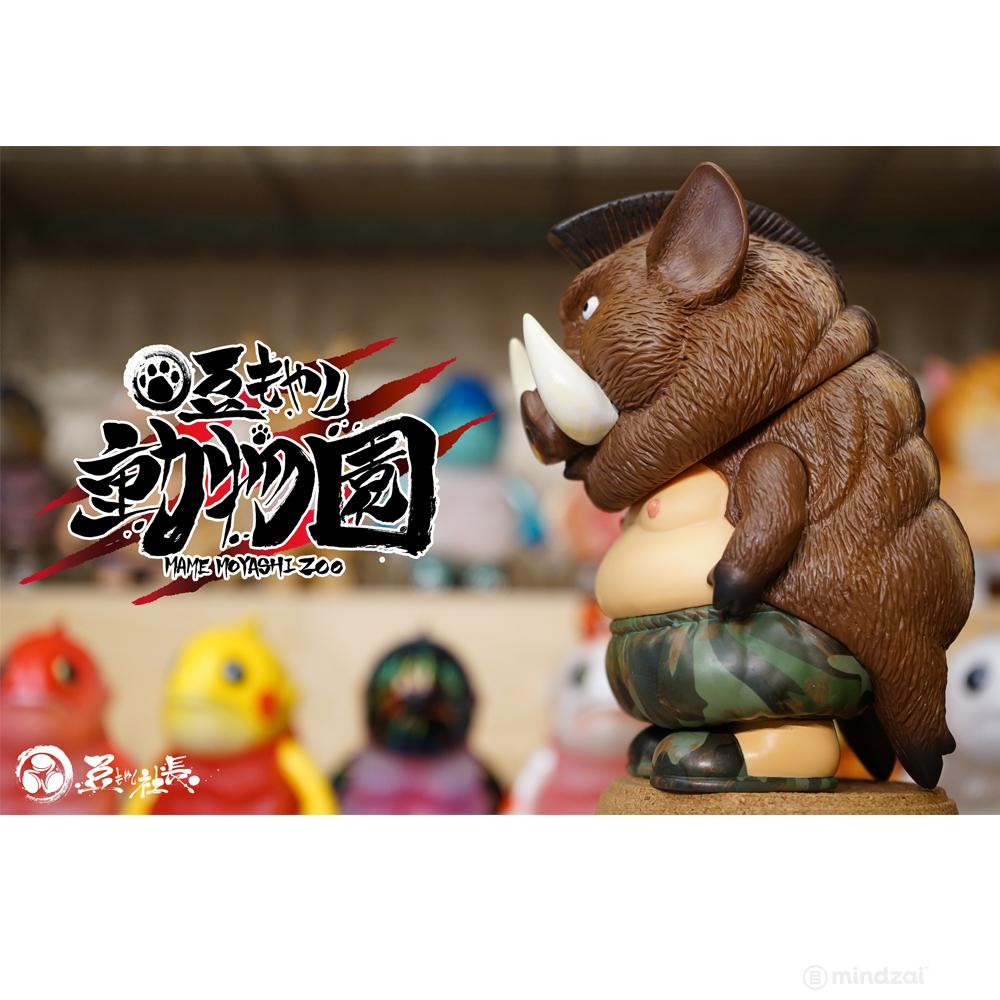 *Pre-order* Colonel Cutlet Mame Moyashi Zoo by Chino Lam