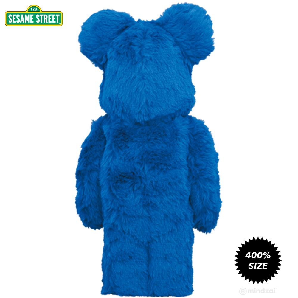 *Pre-order* Cookie Monster Costume Version 400% Bearbrick Set by Medicom Toy