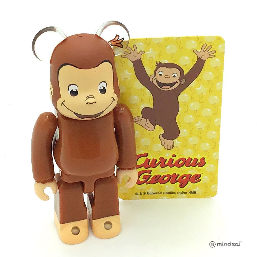 Bearbrick Series 37 - Curious George (Animal)