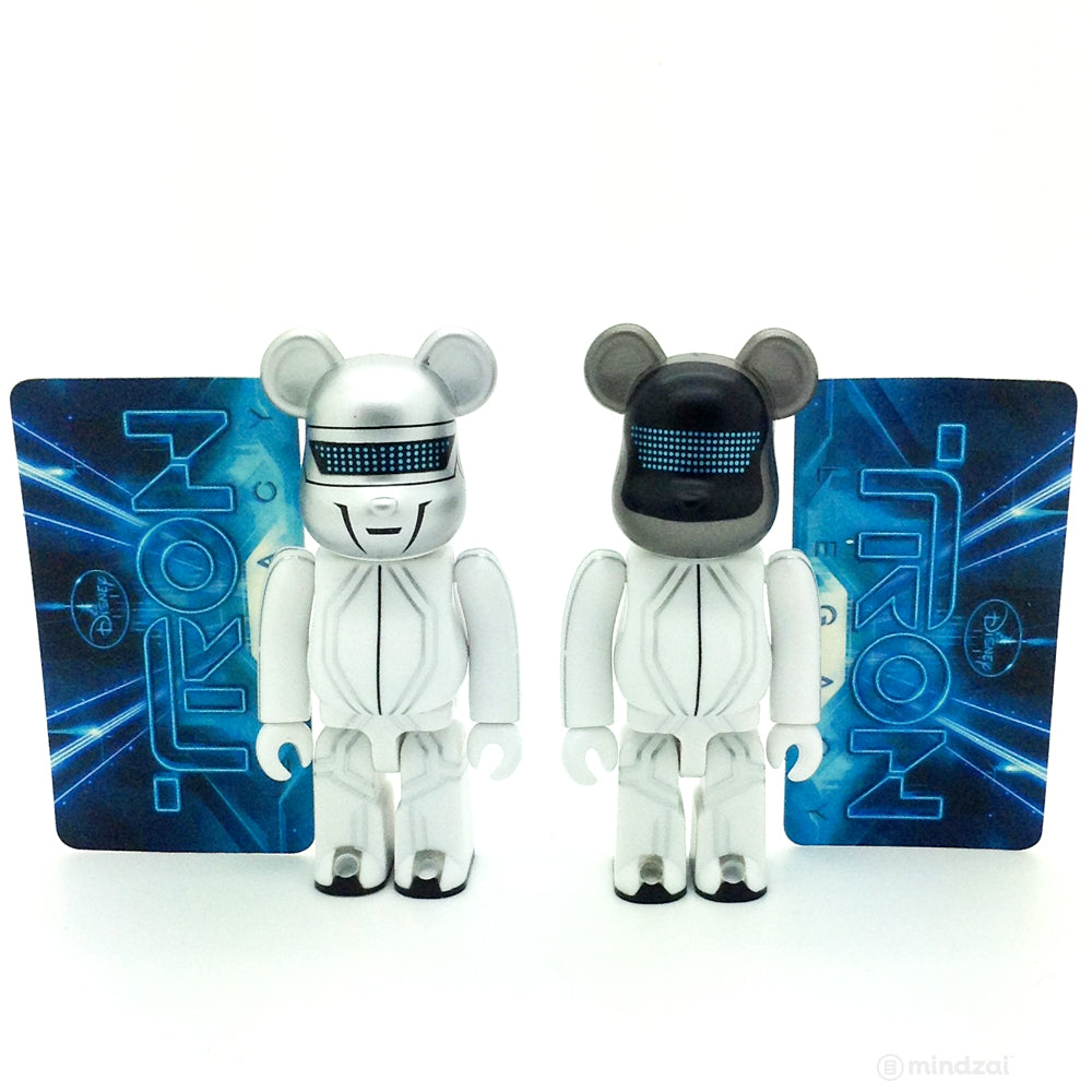 Bearbrick Series 21 - Daft Punk - Disney TRON Legacy Version (Set of 2) (SF)