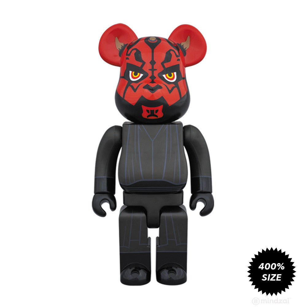 Darth Maul Bearbrick 400% by Medicom Toy x Star Wars