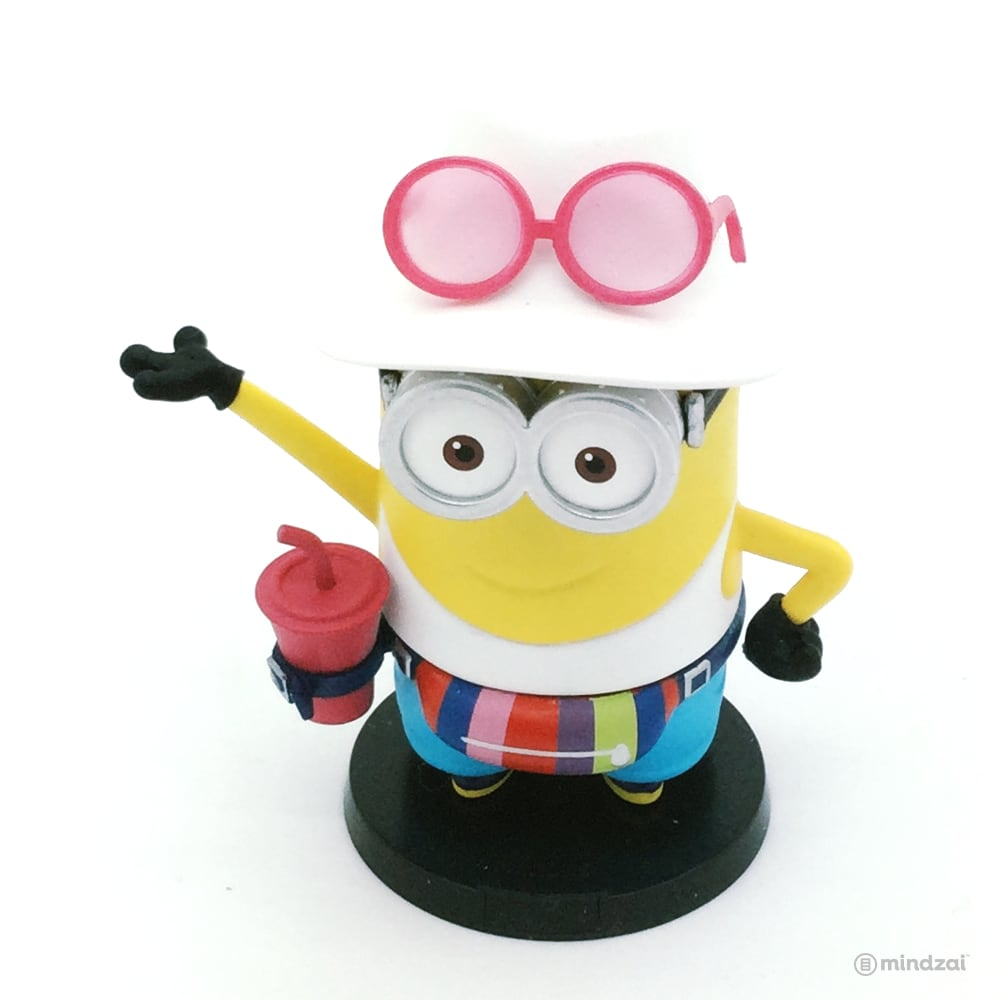 Minions Holiday Blind Box Series by POP MART - Dave with Hat