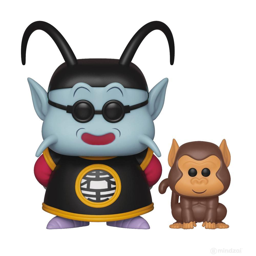 DBZ S5: King Kai and Bubbles POP! Vinyl Figure by Funko