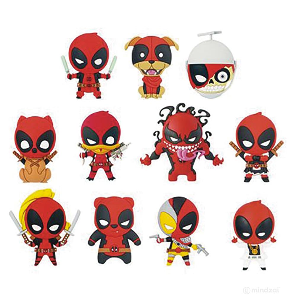 Deadpool Series 3 Figural Keyring Blind Bag