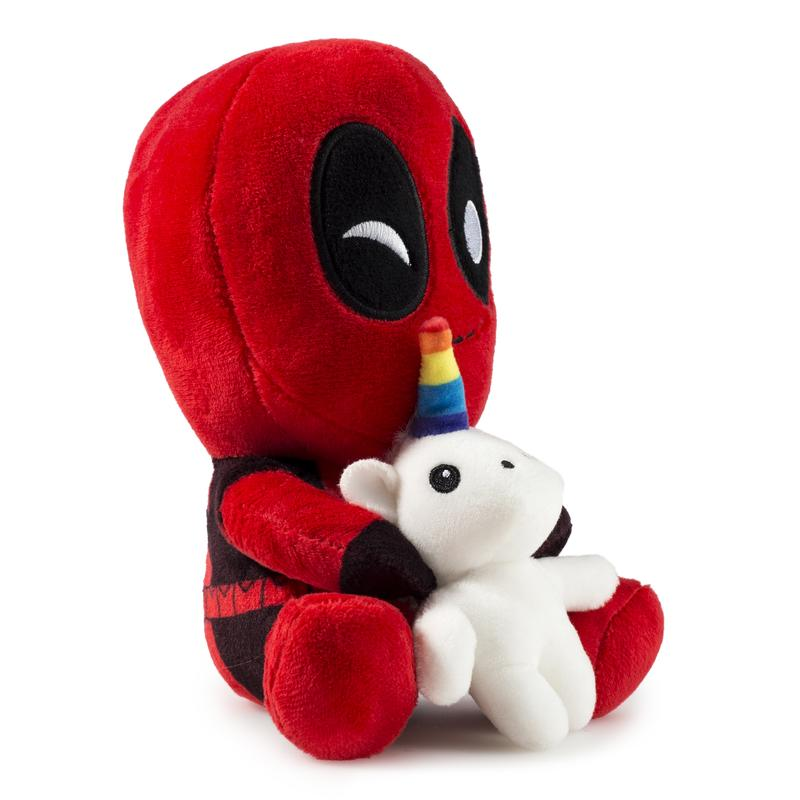 Deadpool Riding a Unicorn Phunny Plush by Marvel x Kidrobot - Special Order