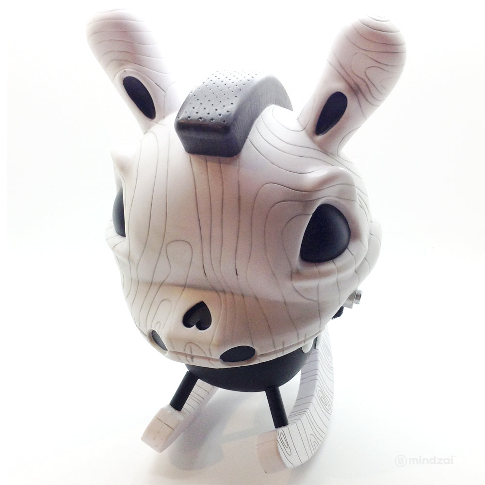 "The Death of Innocence 8"" Rocking Horse Dunny Greyscale by Igor Ventura x Kidrobot"