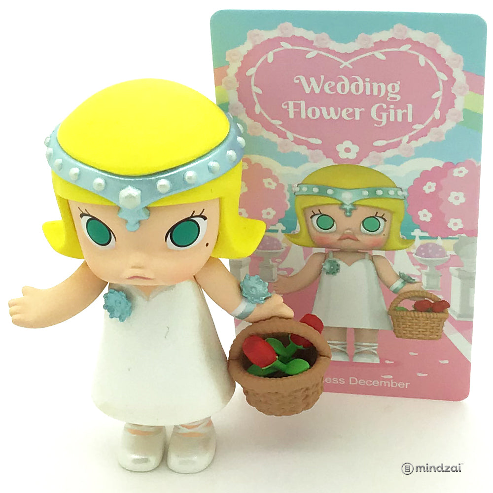 Molly Wedding Flower Girl Series by Kennyswork x POP MART - Princess December
