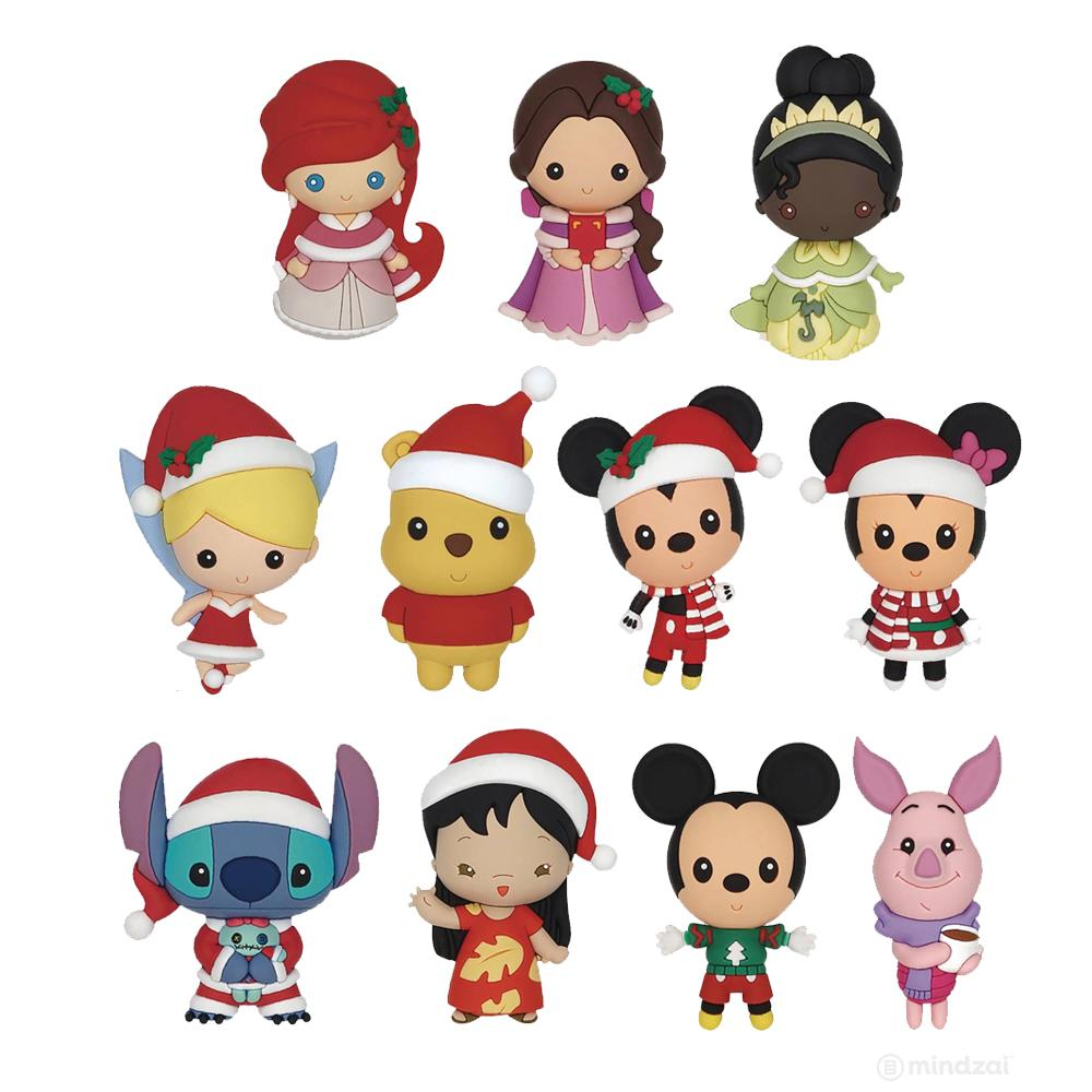 Disney Christmas Figural Keychains by Monogram