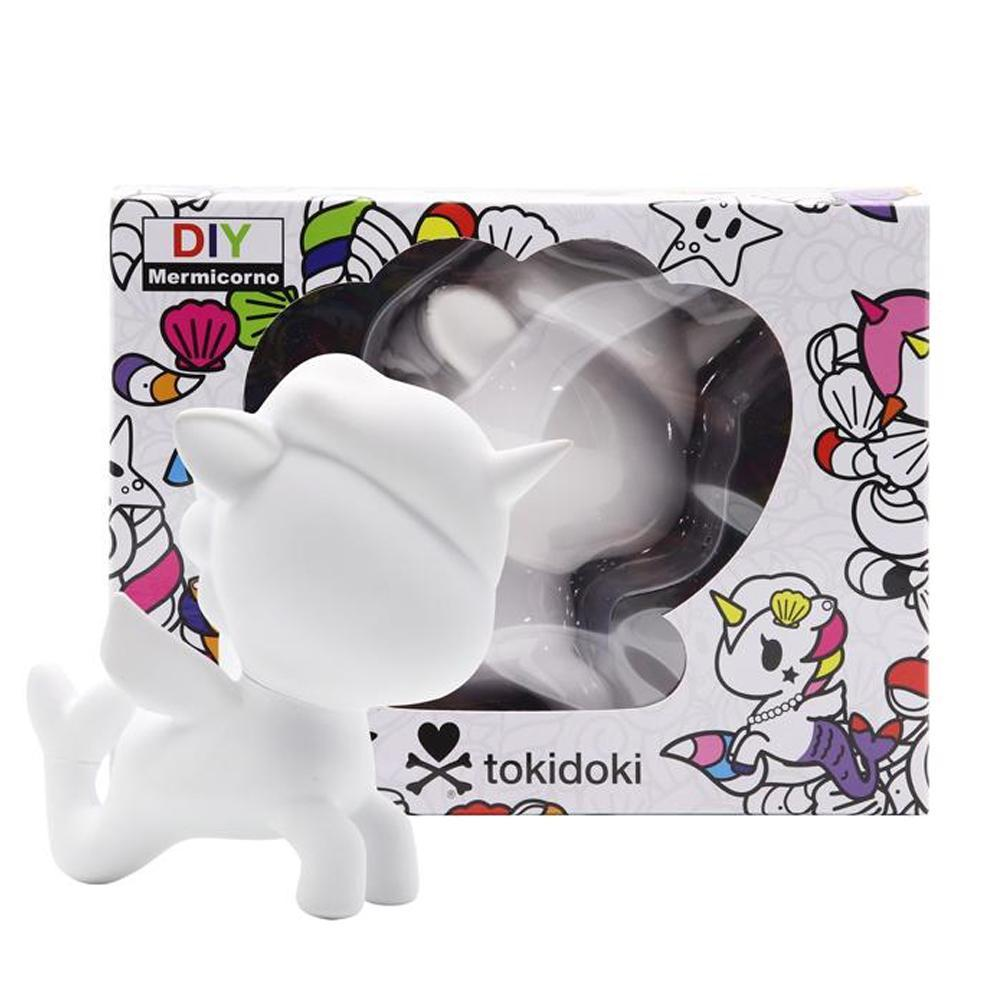 DIY Mermicorno Vinyl Blank Toy by tokidoki