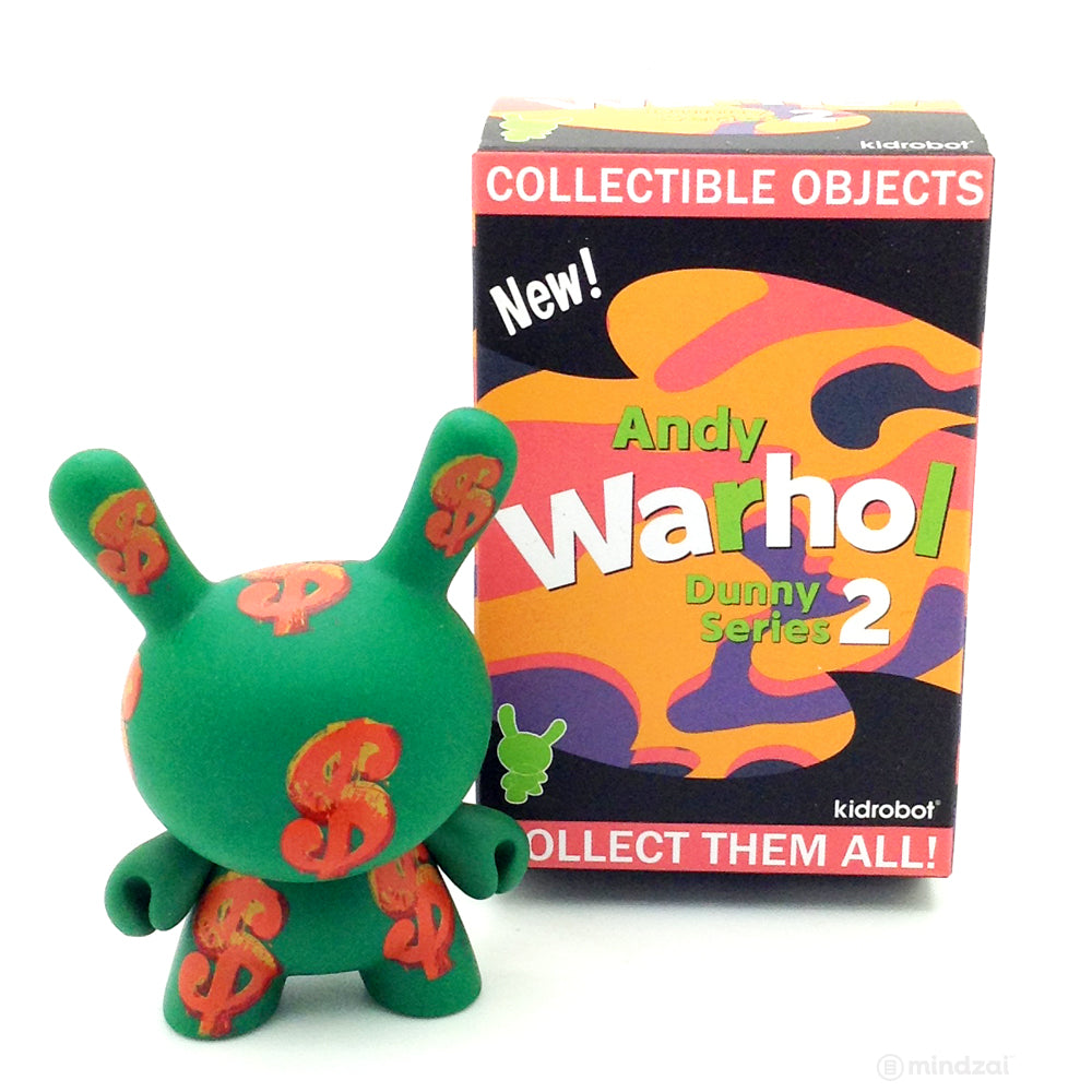 Andy Warhol Dunny Series 2.0 Blind Box - Dollar Sign