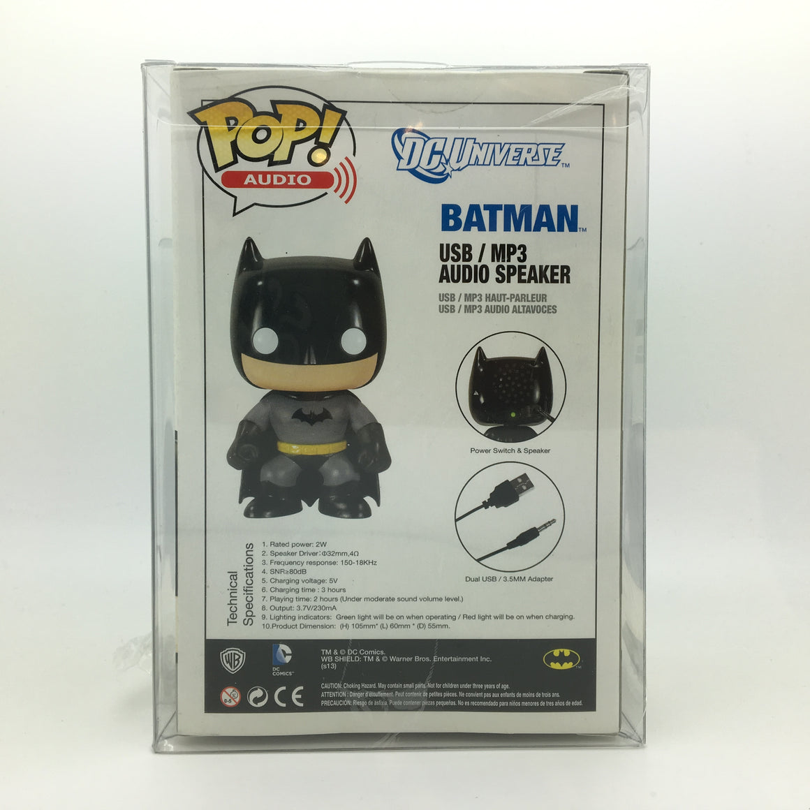 Batman Pop! Vinyl Portable Speaker by Funko