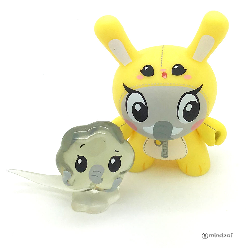 The Wild Ones Dunny Blind Box Mini Series - Elephant Dunny