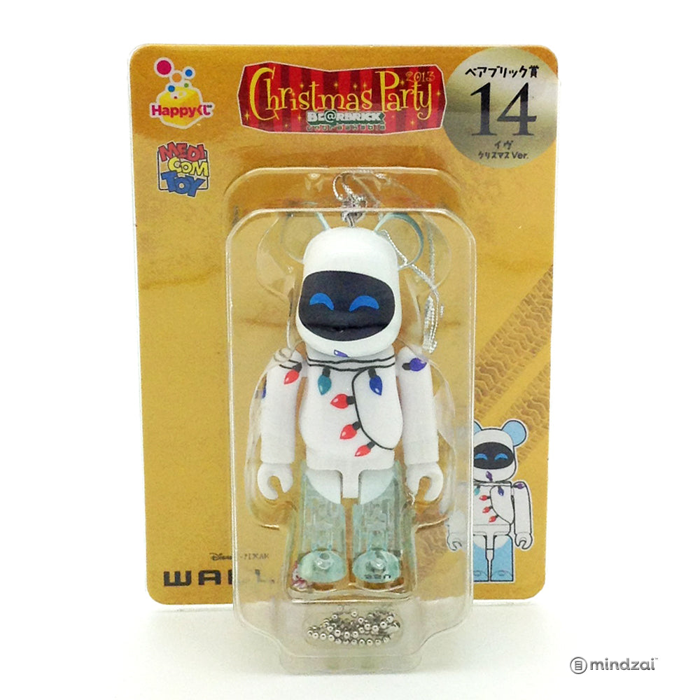 Disney Pixar Bearbrick Unbreakable - Happy Kuji #36 - WALL-E Christmas Party 100% Size