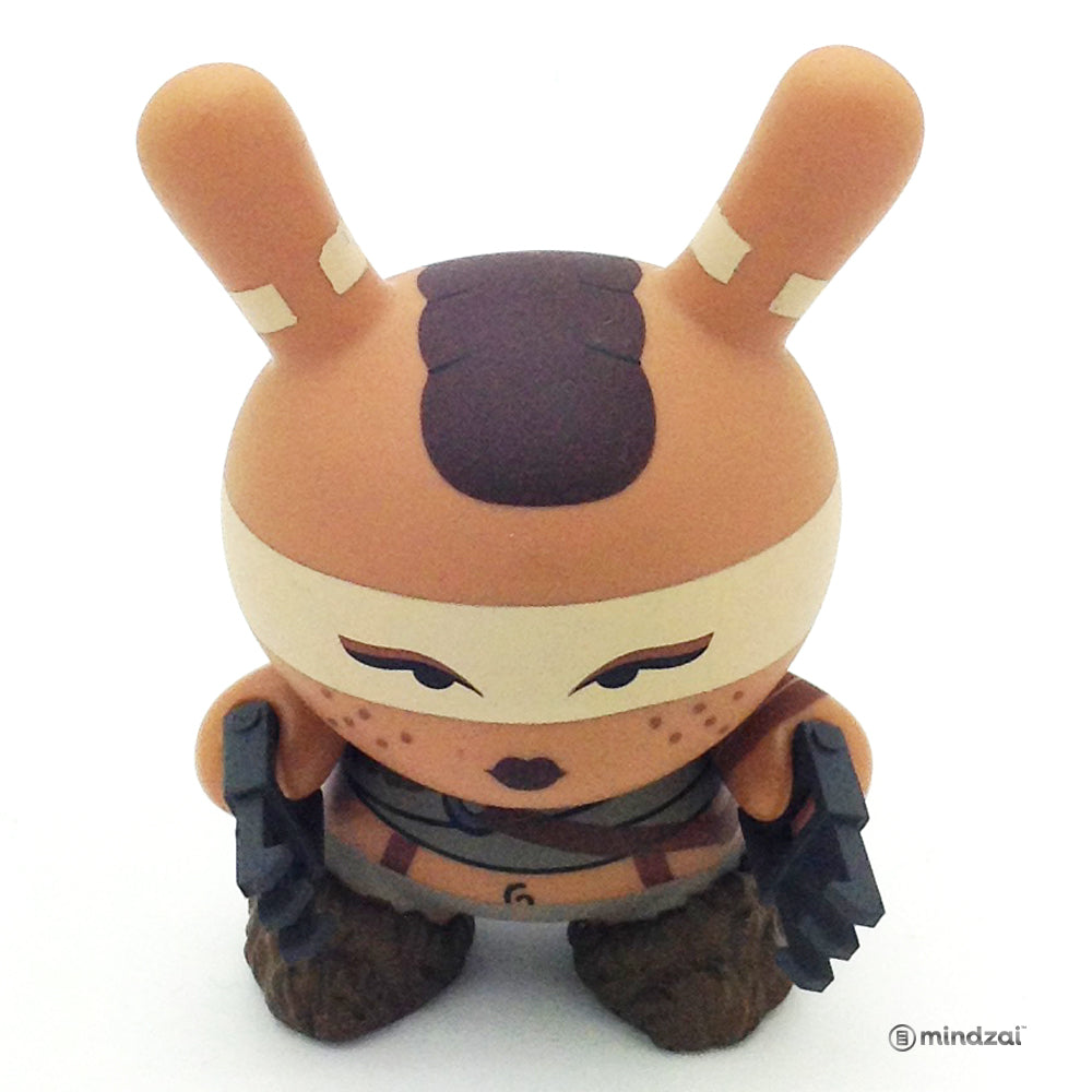 Post Apocalypse Dunny Series - Feral Girl Dunny (Huck Gee)