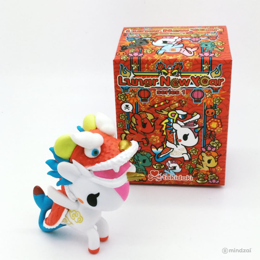 Lunar New Year Unicorno Series One Blind Box by Tokidoki - Festiva