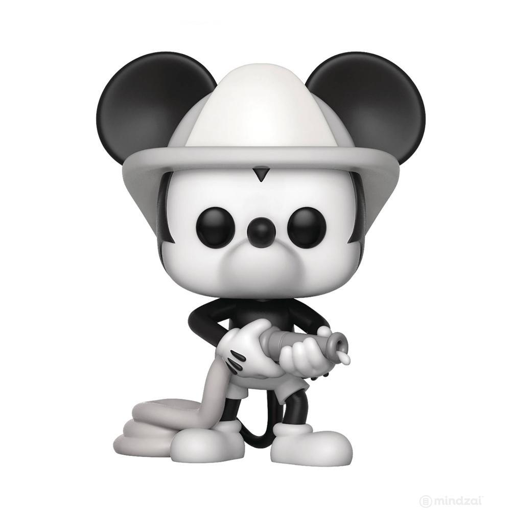 Disney Mickey 90th Firefighter Mickey Pop Vinyl Toy Figure by Funko
