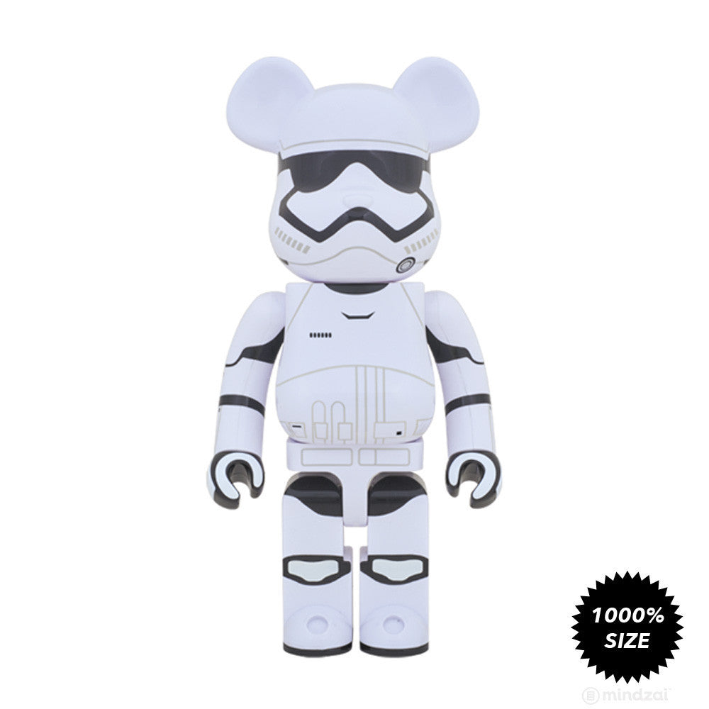 First Order Stormtrooper Bearbrick 1000% by Medicom Toy x Star Wars