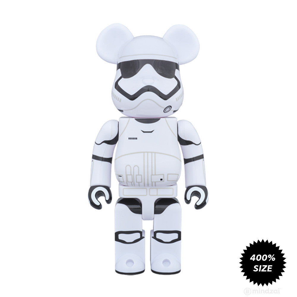 First Order Stormtrooper Bearbrick 400% by Medicom Toy x Star Wars