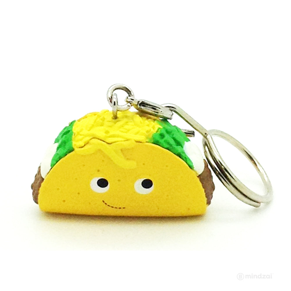 Yummy World Blind Box Keychains Series by Kidrobot - Flaco Taco