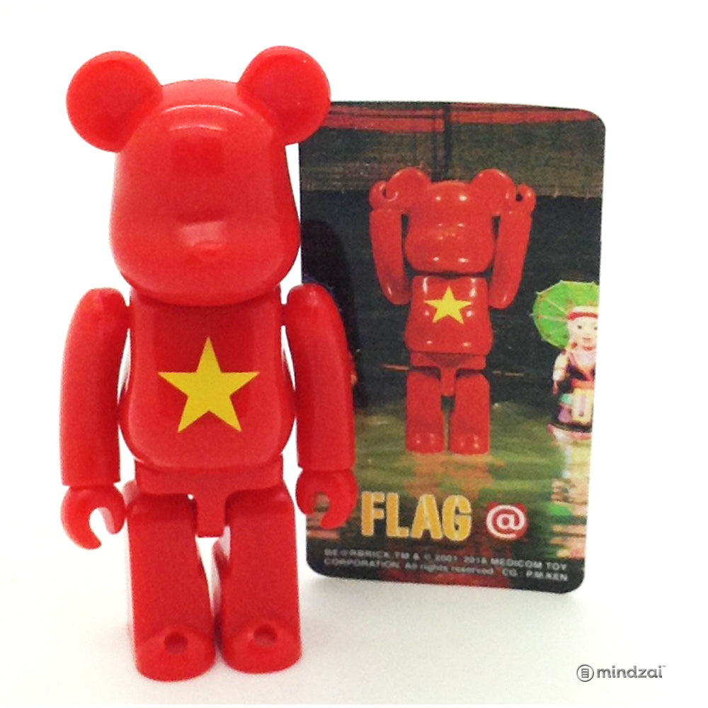 Bearbrick Series 37 - Vietnam (Flag)