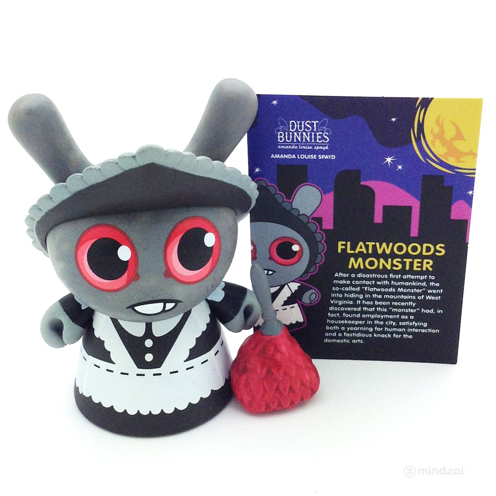 City Cryptid Dunny Series by Kidrobot - Flatwoods Monster (Amanda Louise-Spayd) [Chase]