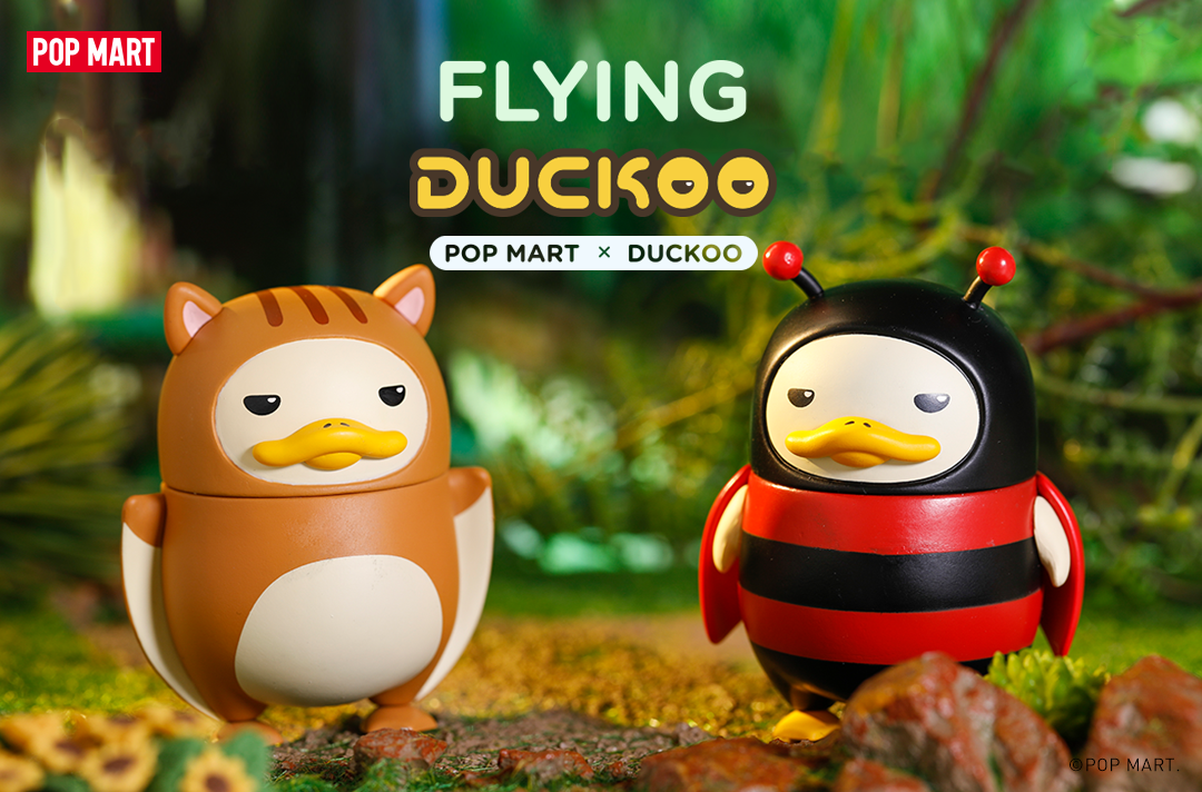 Flying Duckoo Blind Box Series by POP MART x Chokocider