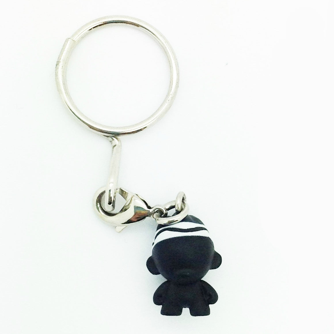 Crayola Munnyworld Zipper Pull Keychains Blind Box - Black Foomi (Chase)